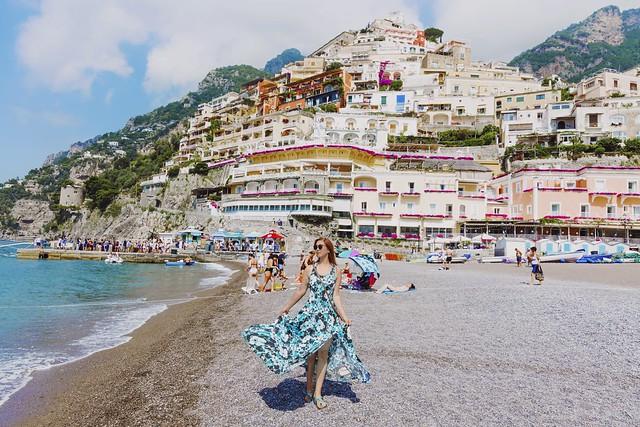 My vacation in Positano