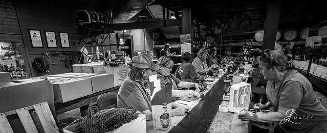 Blantons Line @ Buffalo Trace Distillery