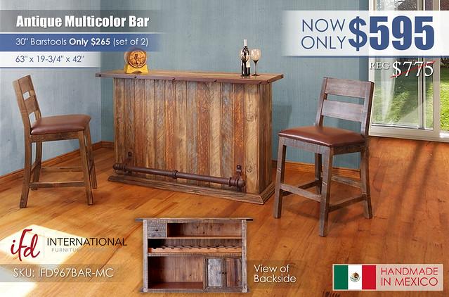 Antique MultiColor Bar_IFD967BAR-MC