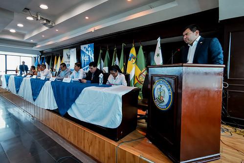 PRESIDENTE DE LA ASAMBLEA NACIONAL CÉSAR LITARDO, EN LA PRIMERA MESA DE TRABAJO DEL SECTOR JUSTICIA.  BABAHOYO,  12 DE JULIO DE 2019
