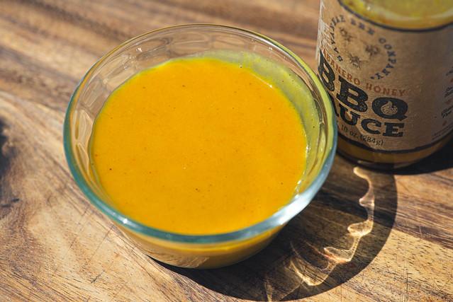 Habanero Honey BBQ Sauce
