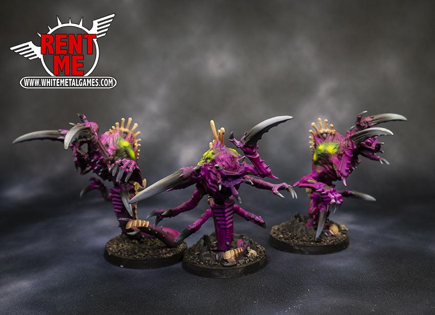 3 Tyranid Raveners B - Rental