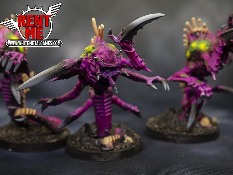 3 Tyranid Raveners C - Rental
