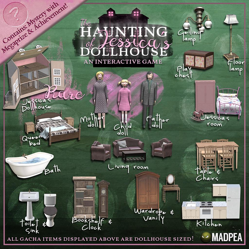 MadPea's The Haunting of Jessica's Dollhouse @Epiphany!