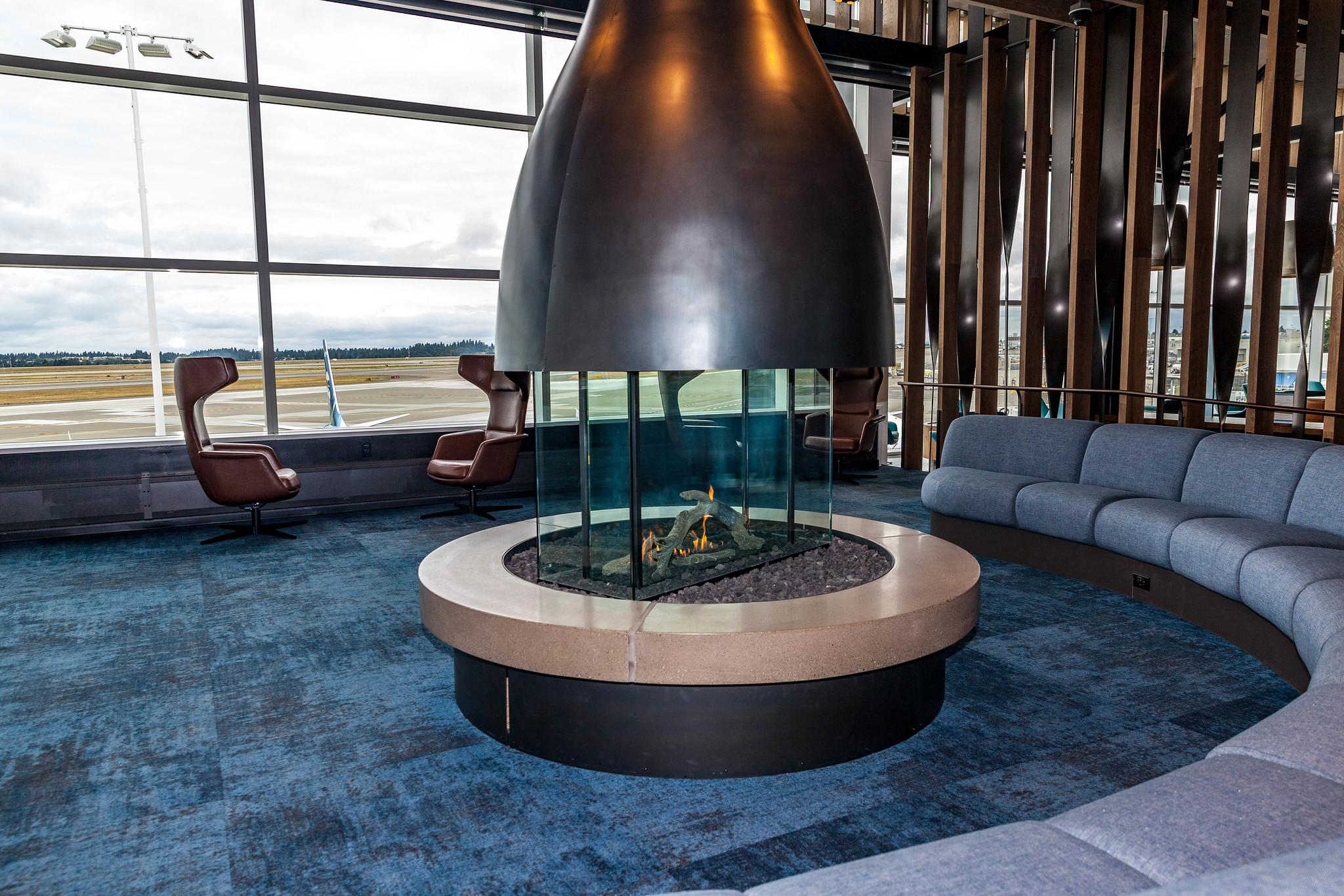 Alaska Airlines Flagship Lounge SEA North Satellite