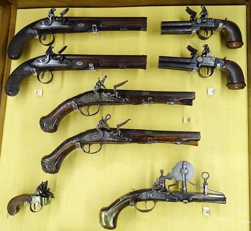 armas de fuego Museo Naval Madrid 06