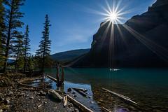 Alone with Nature - Moraine Lake