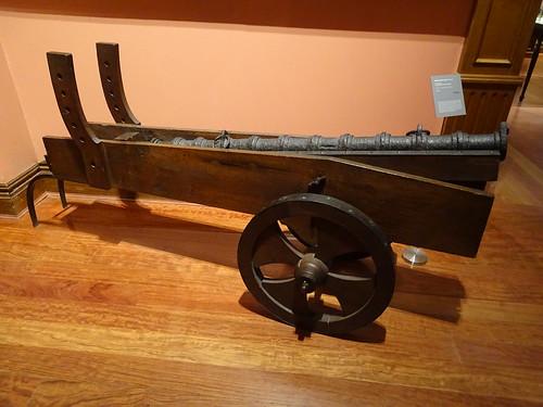 cañon arma de guerra Museo Naval Madrid 02