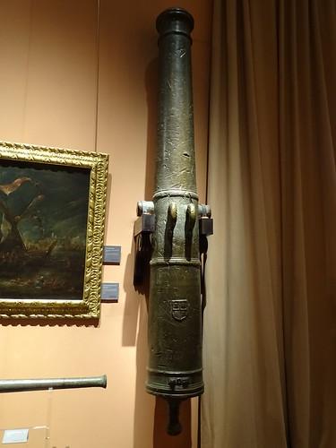 cañon arma de guerra Museo Naval Madrid 03