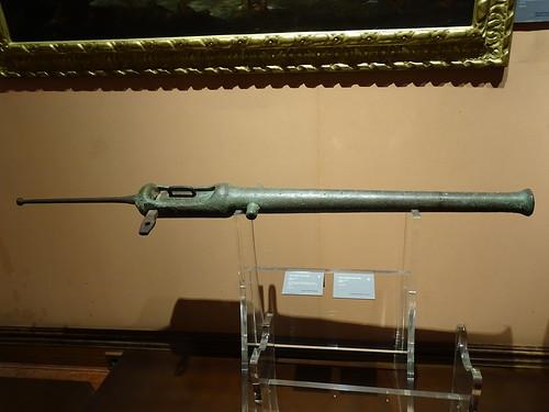 cañon arma de guerra Museo Naval Madrid 04