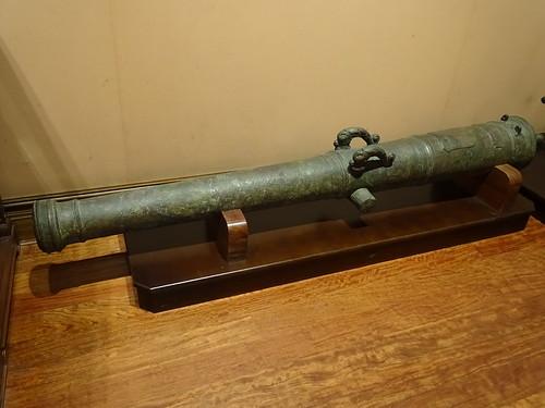 cañon arma de guerra Museo Naval Madrid 05