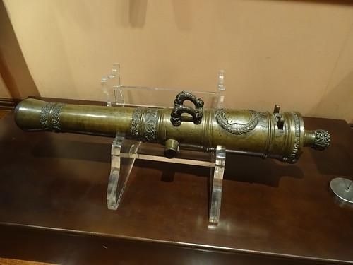 cañon arma de guerra Museo Naval Madrid 07