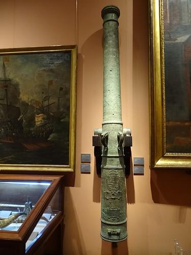 cañon arma de guerra Museo Naval Madrid 08