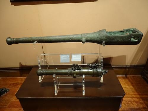 cañon arma de guerra Museo Naval Madrid 09