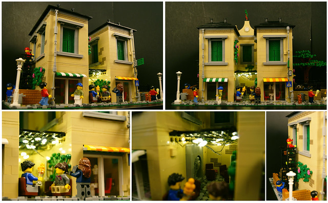 Romantic Gelato Collage (Lego MOC)