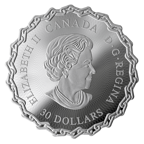 Saint Lawrence Seaway coin obverse