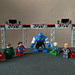 Supergirl, Green Lantern, Superman, Darkseid, Lex Luthor, Count Vertigo and Toyman