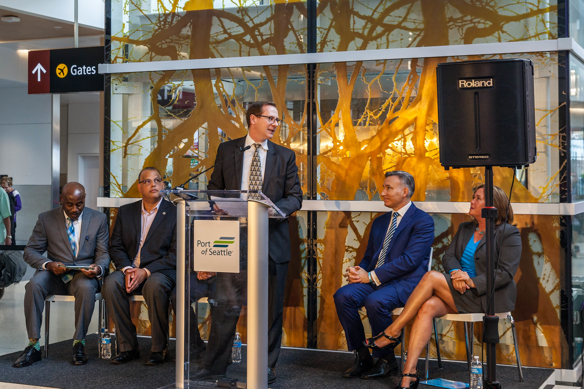 Grand Opening North Satellite Moderization Project Phase 1: Andrew Harrison - Alaska Airlines Executive Vice President & Chief Commercial Officer