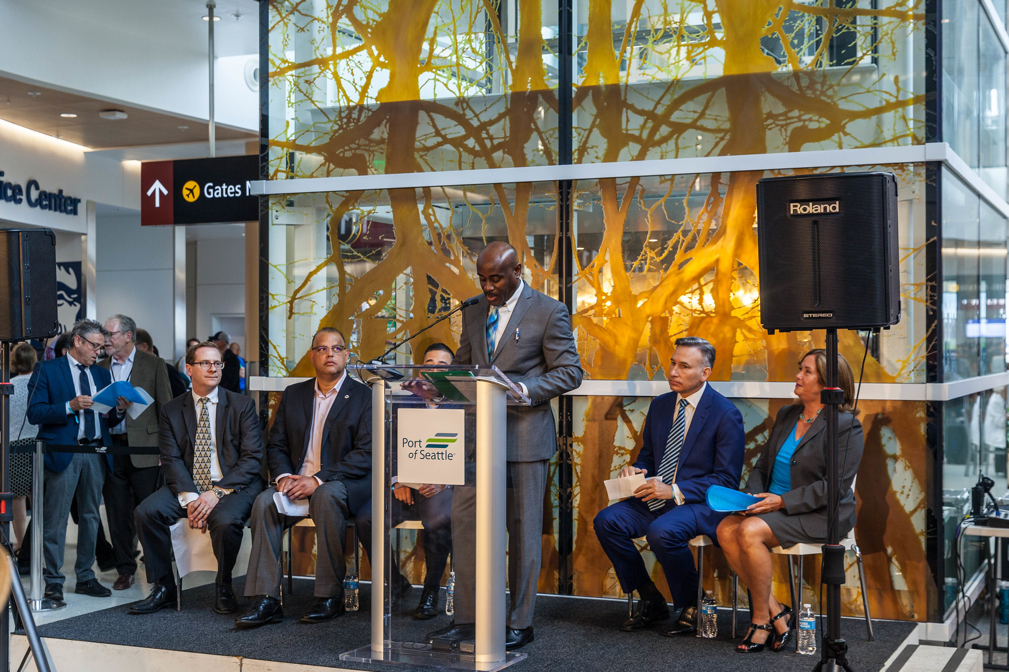 Grand Opening North Satellite Moderization Project Phase 1: Lance Lyttle, Sea-Tac International Airport Managing Director