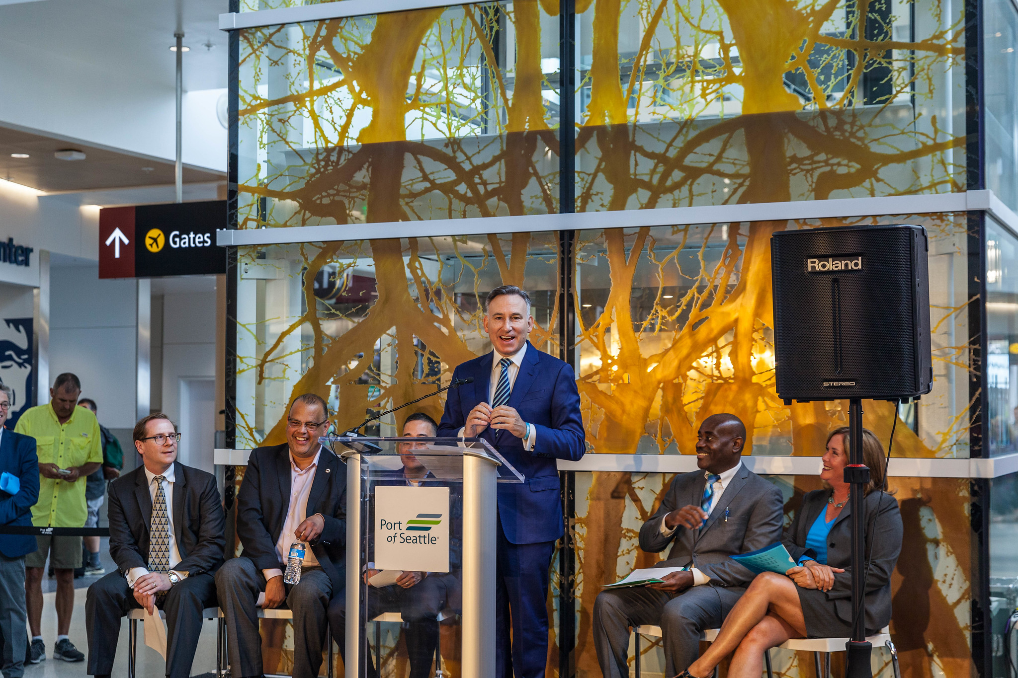 Grand Opening North Satellite Moderization Project Phase 1: Dow Constantine - King County Executive