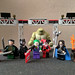 Talia al Ghul, Ra's al Ghul, Catwoman, The Joker, Harley Quinn, Vandal Savage, Anarky and Killer Croc