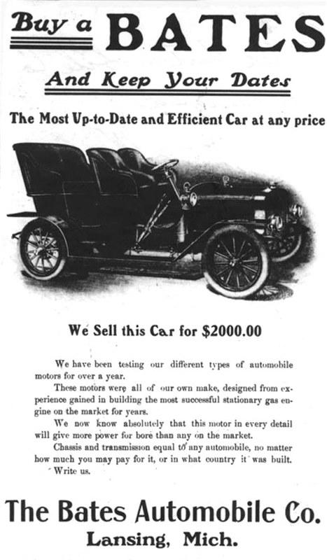 1904 Bates Touring Car