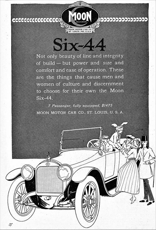 1916 Moon Six-44 Touring