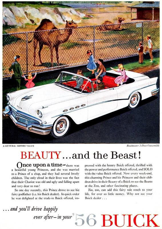 1956 Buick Roadmaster 2-Door Convertible