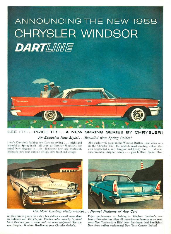 1958 Chysler Windsor Dartline