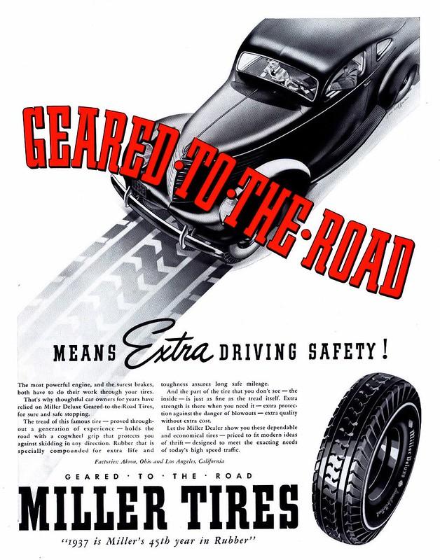 Miller Tires 1937