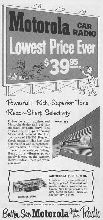 Motorola 1954