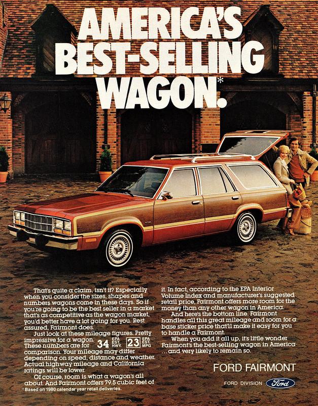 1981 Ford Fairmont Futura Esquire Wagon