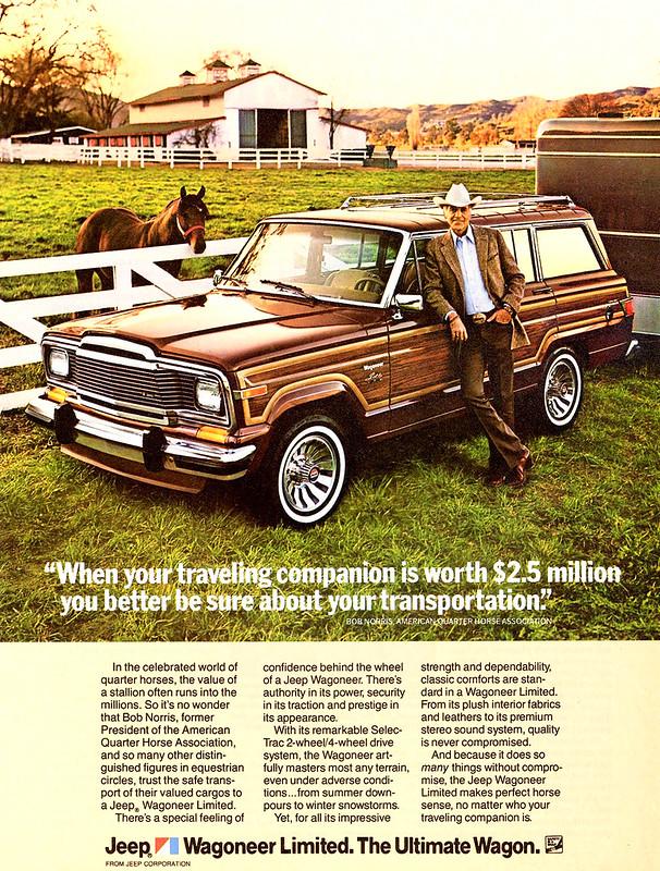 1983 Jeep Wagoneer Limited 1
