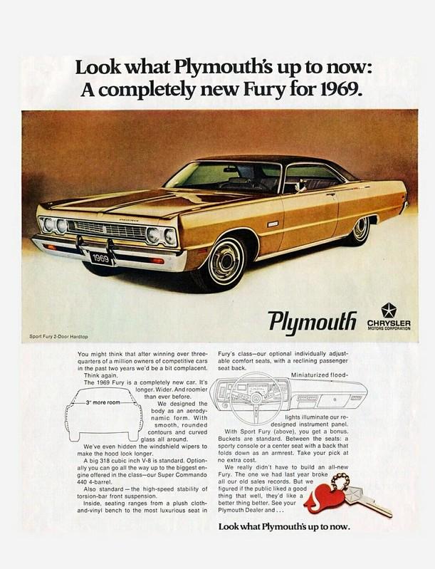 1969 Plymouth Sport Fury Two-Door Hardtop