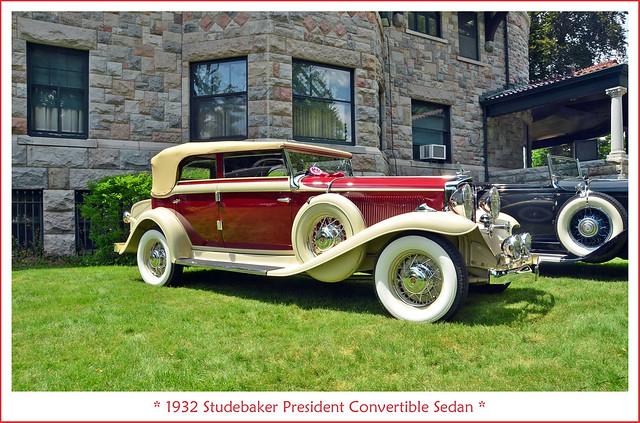 1932 Studebaker President Convertible Sedan