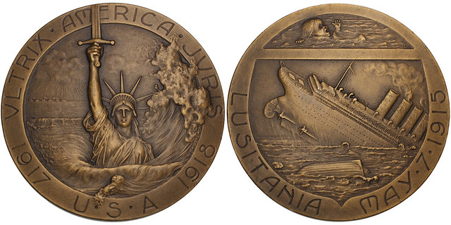 Sinking of the Lusitania Medal