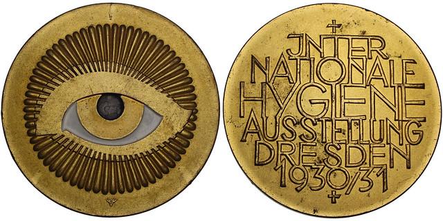 1931 Dresden International Health Exposition Medal