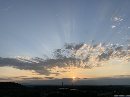 Sunset and Clouds 13 July 2019