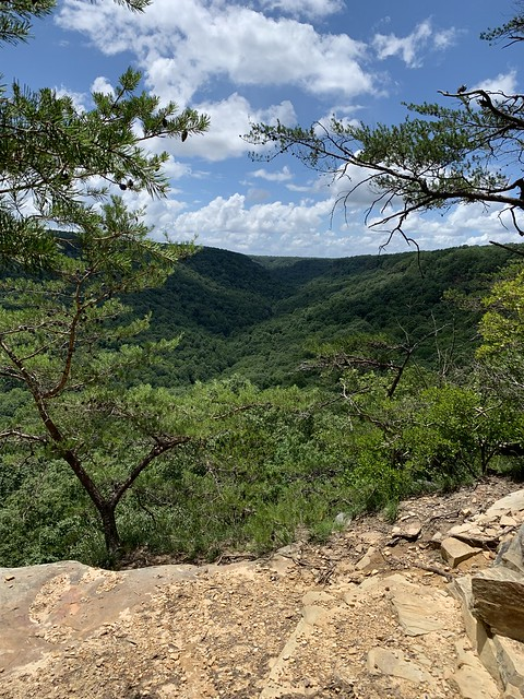 Nice views on Big Creek Rim Trail