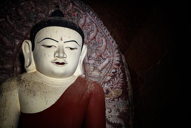 A Buddha At A Bagan Temple, Myanmar