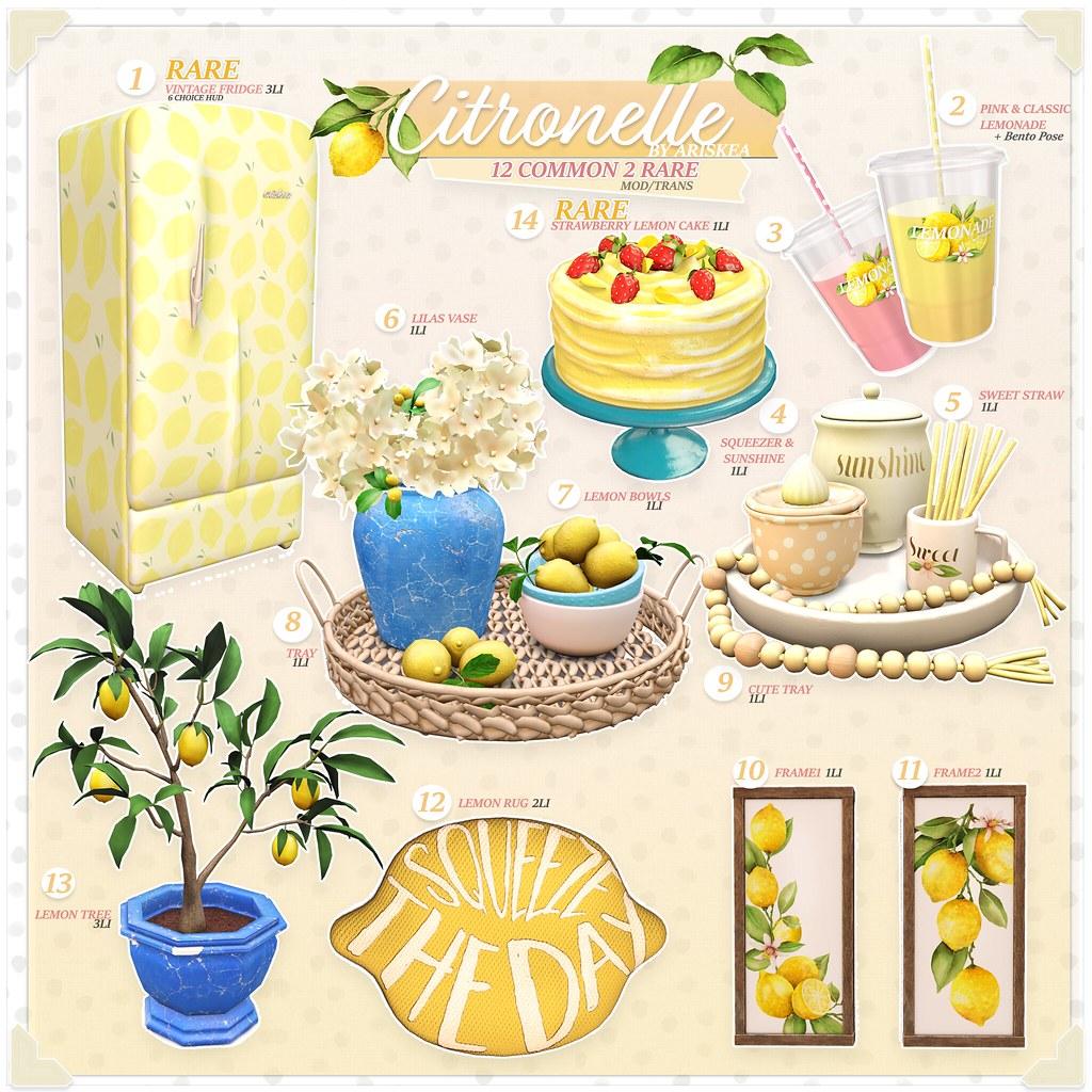 Epiphany- Citronelle – Ariskea