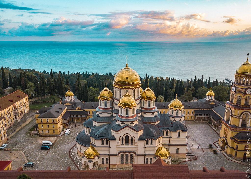 Новоафонский-монастырь-New-Athos-Monastery-Abkhazia-mavic-0929