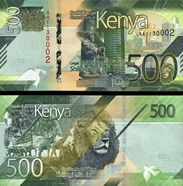 500 Šilingov Keňa 2019 Pnew