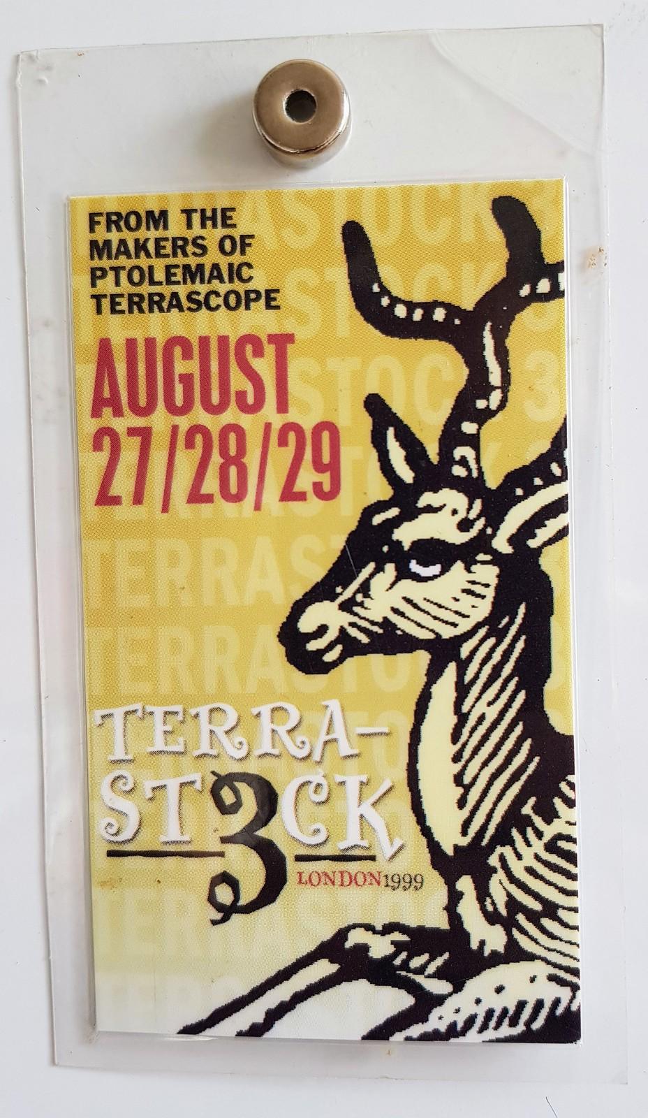 Terrastock III laminated pass