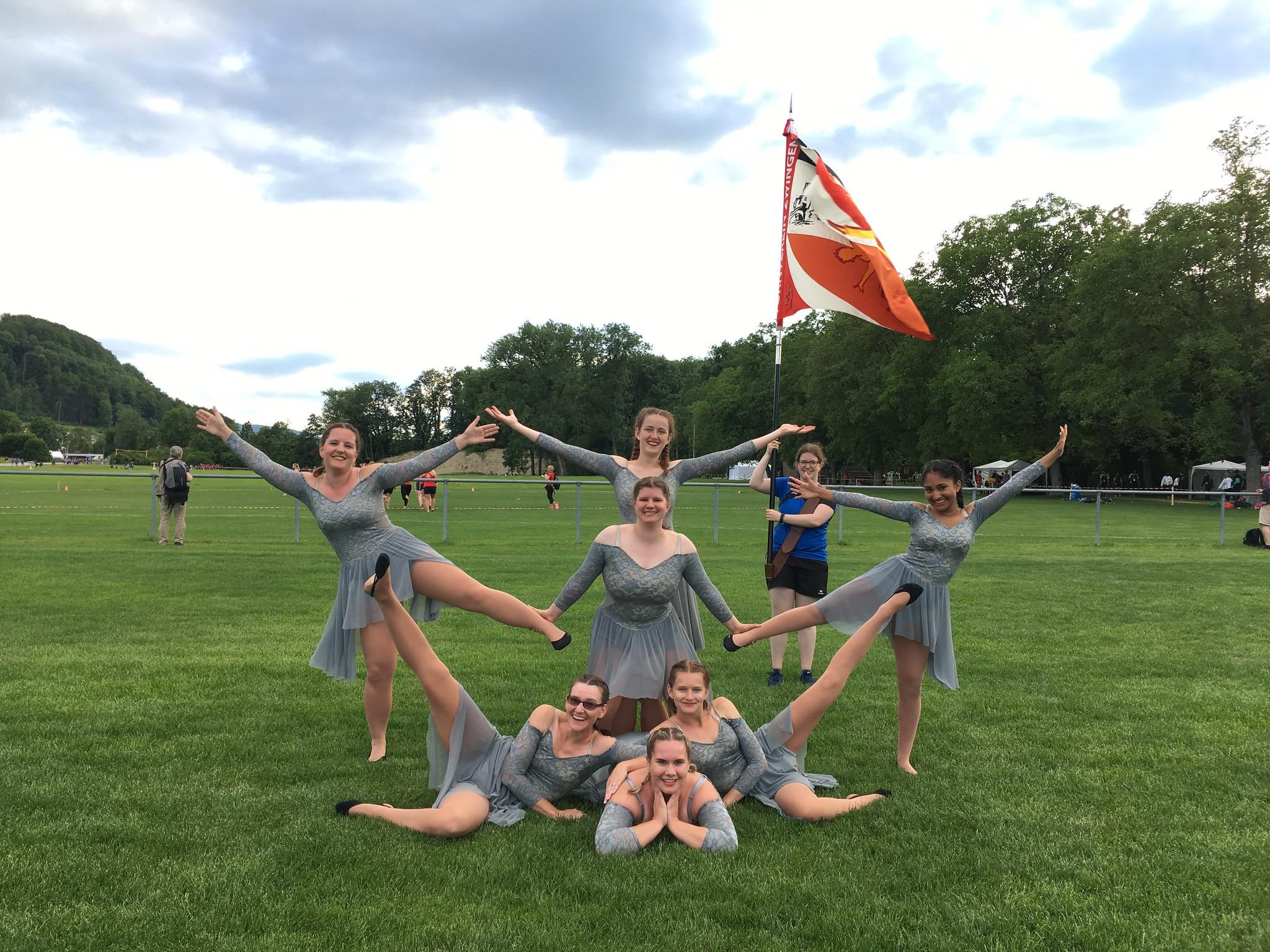 Gruppenfoto Gymnastik
