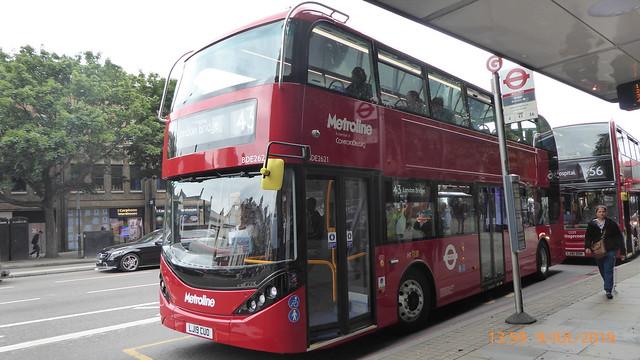 P1170018 BDE2621 LJ19 CUO at Angel Station Upper Street Islington London