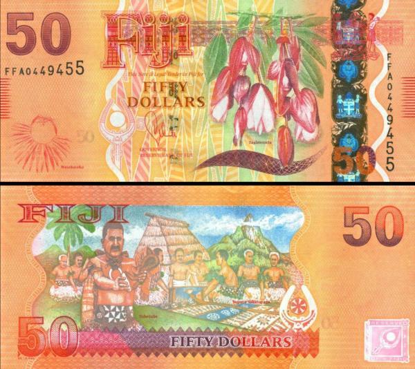 50 Dolárov Fidži 2012, P118