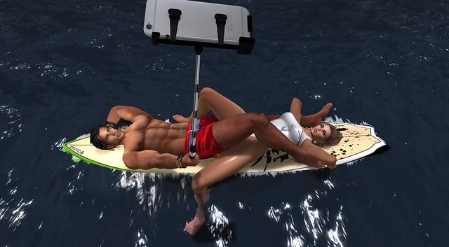 Surfboard Selfie