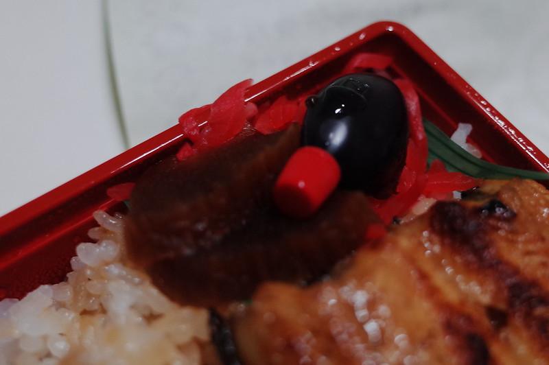 赤羽まるます家特製うなぎ弁当奈良漬 紅ショウガ