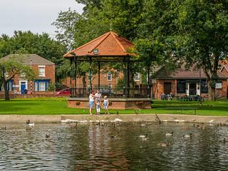 Bandstand - Memorial Park, Thorne